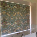 paisley print blinds