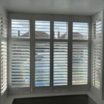 new white modern blinds