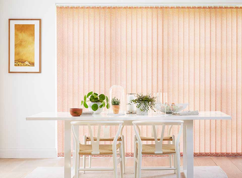 arena farrow pumpkin vertical blinds